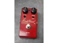 Lovepedal Redhead Overdrive pedal (version 2)