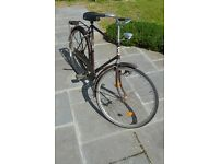Old Dutch bicycle
