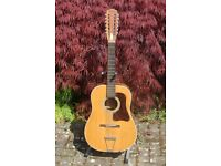 12 STRING MADE IN JAPAN ACOUSTIC GUITAR