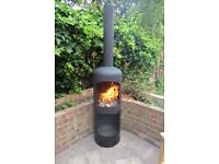 Gas Bottle Woodburner / Log Burner / Chiminea /Patio heater