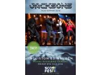 The Jackson's - Edinburgh - Fri 6th July 2018
