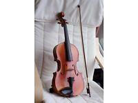 16 inch Sielam viola with bow