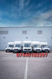 MAN AND VANS/ REMOVALS SERVICES /HOUSE MOVING /OFFICE/BIKE MOVER /FLAT MOVING