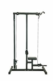 *NEW* Lat Pull Down, cable pulley machine pulldown (weights gym)
