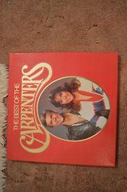 4 LP set Best of the Carpenters