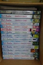 15 Hamish Macbeth murder mysteries by M.C.Beaton