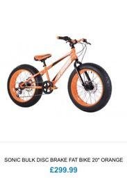 Used good condition fat bike/bmx/junior bike/Stunt bike