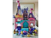 Fisherprice little people disney castle