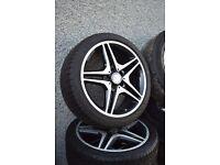 "18"" Mercedes CLA AMG alloys"