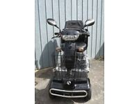 New 8mph rascal mobility scooter with suspension and puncture proof tyres