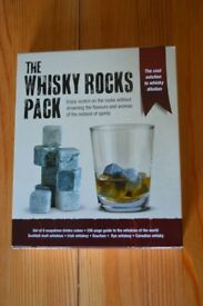 The whisky rocks pack. NEW