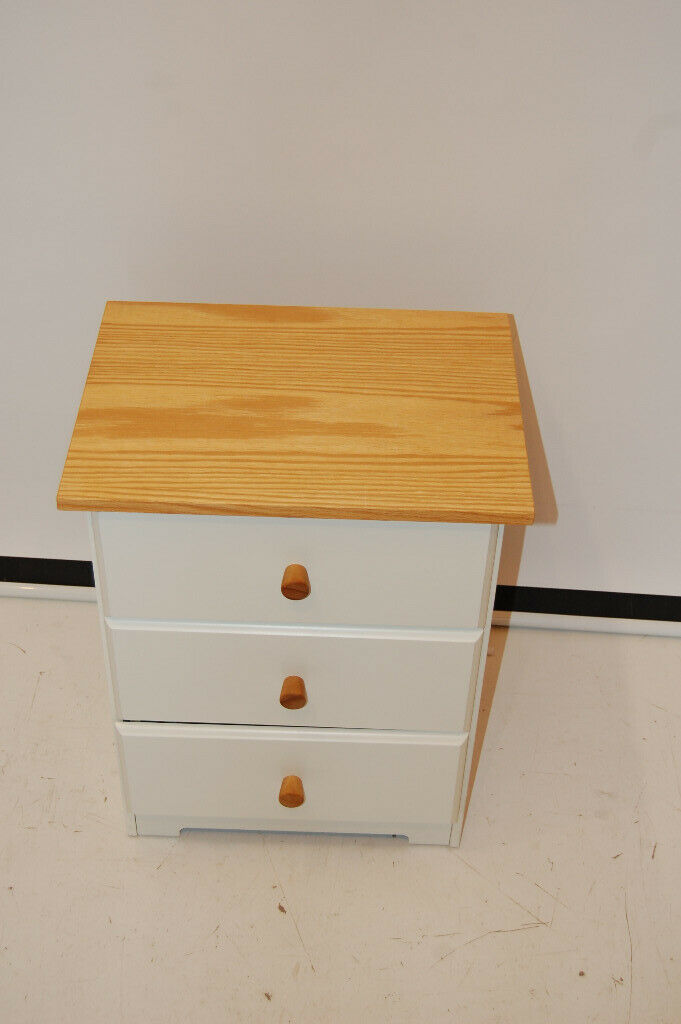 Excellent Capri White Pine Bedroom Furniture 3 Drawer Bedside Cabinet Unit Nightstand In Sighthill Edinburgh Gumtree Download Free Architecture Designs Ferenbritishbridgeorg