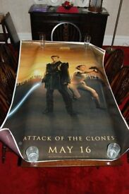 Star Wars Episode II Attack of the Clones - Bus Stop Size Poster (Original)