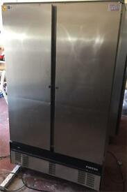 Foster double door freezer commercial 3 month warranty free delivery