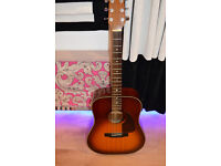 Fantastic Fender Acoustic Guitar - Low Action only £100