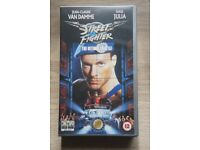 Street Fighter The Ultimate Battle (1994) JCVD - VHS Video - New condition