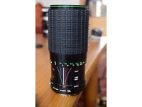 Hanimex 80-200mm f4 lens