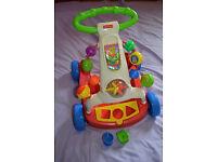 Fisher Price Brilliant Basics Baby Walker to Wagon