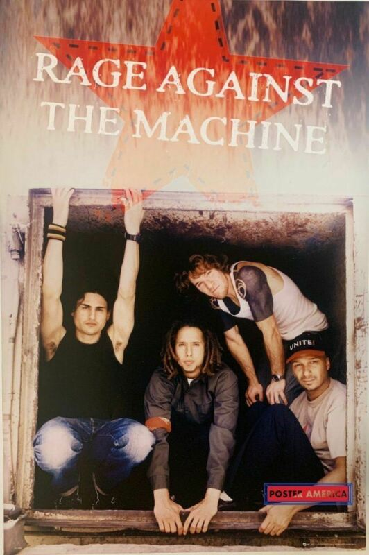 Rage Against the Machine Rare Atmosphere Apparel Band Shot Poster 24 x 36