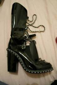 Chanel boots collection 2013