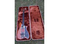 Ovation Magnum 1 (Model 1261) stereo electric bass guitar - '74-'82 - USA - Gloss natural