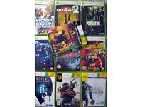 360 XBOX - 10 Games for sell !!!
