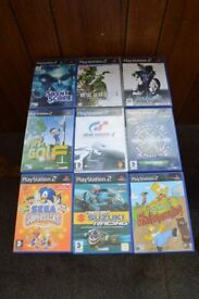 9 Retro Playstation 2 games all boxed with instruction manuals, Thatcham, Berkshire