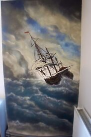 Graffiti/Airbrush artist for a bespoke mural painting ,workshops and street art tours. Get in touch!