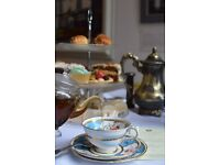 Vintage tearoom hiring part time wait staff (L1)