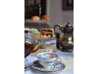 Vintage tearoom hiring part time wait staff (L1)
