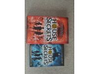 1st & 2nd House of Secrets Books and David Walliams Book