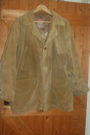 Authentic original McKenie vintage three quarter cord jacket with chunky buttons size large