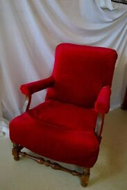 Small arm chair (antique)
