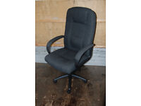 Keno Luxury Fabric Executive Swivel Office Chair CH0137