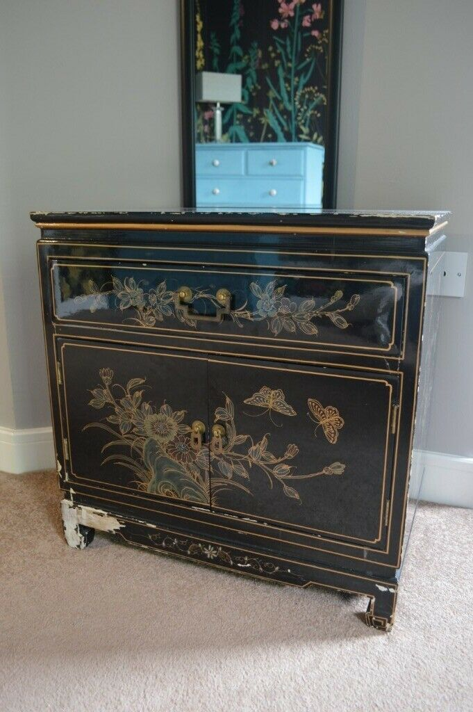 Matching Chinoiserie Style Storage Cabinet And Tall Hexagonal Drawers In Knightswood Glasgow Gumtree