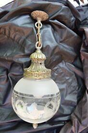 John Lewis Globe Lamp Fitting