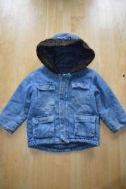 Boys coat 12 -18 months