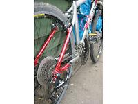 Used Marin Pallisade Trail Mountain Bike