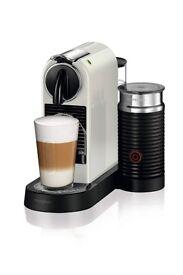 Nespresso Citiz and Milk Coffee Machine White by Magimix [Energy Class A]