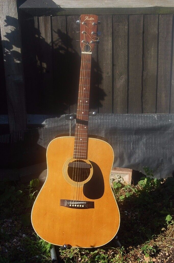FENDER F65 ELECTRO ACOUSTIC GUITAR