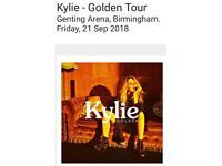 4 Kylie Tickets - Golden Tour Birmingham
