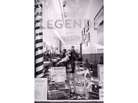 Full-time Barbers wanted in Central London