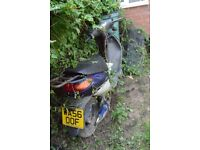 Vivacity 100cc scooter project, Spares or repair