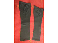 Boys Charcoal School Trousers Age 13-14