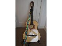 (Cheap - £30) ==> Eleca 3/4 Acoustic Guitar (Children's Guitar or Travel Guitar)....