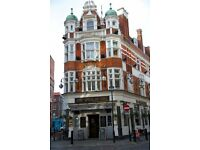 Full Time Assistant Manager - Live Out - Up to £23,000 per year - Spice of Life - Soho - London