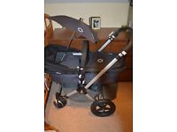 Bugaboo cameleon 2 grey and black