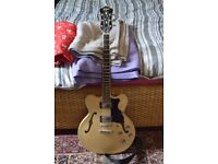 Hofner Verythin Semi-Acoustic Electric Guitar (335/Gibson/Epiphone)