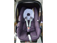 BARGAIN!RRP over £200!Maxi Cosi Car Seat&CosyToes&Summer Cover-everything you need for £65 o.n.o.