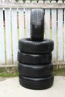 5 (FIVE) GREAT TIRES - (size) 265 / 70 / 17